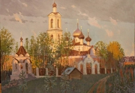 Потогин В.В. Церковь в Свердлово х.м. 80х90 2017г.