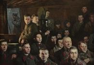 Штрикман Л.Л. Довоенное кино. 2010 г. Х.м. 100х140