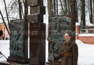 Чебаненко. А.Д. Памятник поколению войны (г. Клин). Бронза, камень. 2016