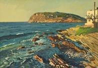 Евстигнеев А.В. Знойный день. Остров Крит. 60х80 см.х.м. 2017 г (2)
