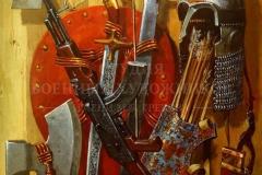 Сибирский А.В. Слава русского оружия. 2015 г. х.м. 90х70
