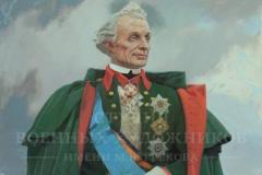 Белюкин Д.А. Портрет А.В. Суворова. 2015 г. х.м. 150х100