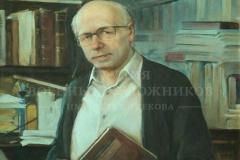 Минеева П.В. Сахаров Андрей Дмитриевич. 2012 г. х.м. 90х70 см