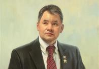 Штрикман Л.Л. Шойгу С.К. 2015 г. х.м