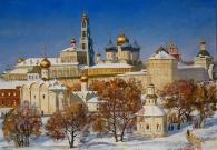 Сибирский А.В. Троица. 2010 г. Холст, масло. 80х100