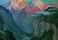 Ваганов А.Г. Утро в горах. 2016 г