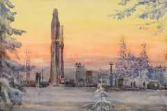 Антонов С.Г. На дальних рубежах 1980 г. б. акв.