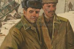 Авакимян О.А. Водители автокранов,  б.г., 1989 г