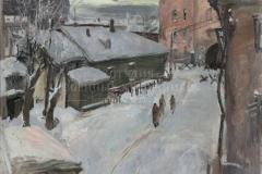 Алексеев А.Е. Патруль. 1941 год. 1986 г. х.м. 80х100