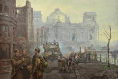 Ананьев А.М. Берлин. Май 1945. 2014 г. х.м. 150х200 см