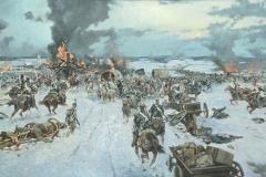Авакимян О.А. Битва на Березине 1812 год. 2011г. х.м. 180х270