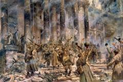 Кривоногов П.А. Победа. 1948г. х.м. 242х389 см. ЦМВС