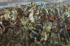 Корнеев Е.А. Кирасиры Его Величества. 200х350 см, х.м. 2009