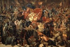 Кто с мечом к нам придет от меча и погибнет 1983 г. х.м. 350х650 см.