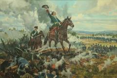 Самсонов А.М. Полтавская битва. 1709 год. 2012 г. х.м. 80х120 см