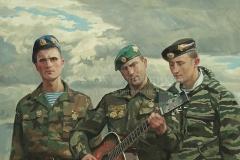 Ананьев Д.А. Солдатская песня. 2005 г., х.м.