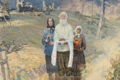 Дмитриевский В.К. Август 1944 года. 1993 г., х.м.