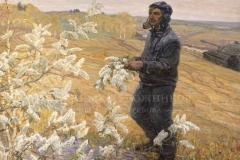 Дмитриевский В.К. Цветет черемуха. 1971г. х.м. 160х170 см