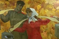 Михайлов А.С. Золотая пора. 1972 г., .х.м.
