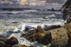 Ездаков О.В. Дневной прилив. 2005г. х.м.75х90 см
