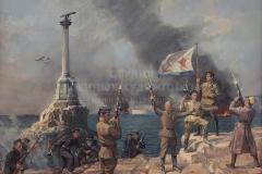 Ананьев А.М. Освобождение Севастополя 9 мая 1944 год. 2014 г., х.м.