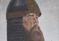 Коротков Н.Н. Юрий Долгорукий. 1997 г. Картон, темпера. 52х52