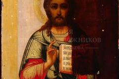 Крившинко И.П. Икона Спаситель Пантократор в процессе реставрации
