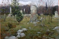 Крившинко И.П. Братское кладбище в Севастополе. х.м . 2010г. 60х70