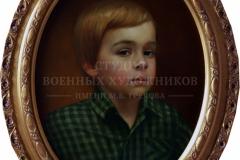 Крившинко И.П. Портрет Олега, х.м. 40х30 2014 г.