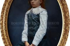 Крившинко И.П. Портрет Валерии х.м. 80х60 2014 г.