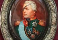 Лебедев И.М. Кутузов М.И., папье-маше, масло, лак, 2013 г.