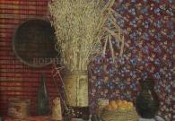 Мокрушин В.А. Русский натюрморт 1997 г. х.т. 87х81
