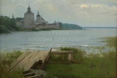 Минеева П.В. Кирилло-Белозерский монастырь. 2016 г, . х.м.