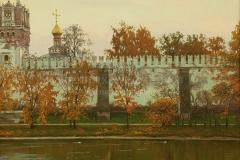 Минеева П.В. Новодевичий монастырь, х.м.,  2017 г.