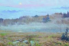 Минеева П.В. Туман. 2010 г. , х.м.