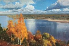 Штрикман Л.Л. Теплые дни октября, х.м.,  2009 г.