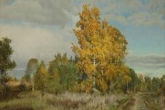 Штрикман Л.Л. В осеннем лесу,  х.м.,  2017 г.-60h80-sm.-h.m.-2017-g.IMG_1122
