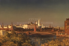 Сытов А.К. Дом на набережной. 2000 г., х.м.