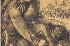 ГОЛОВАНОВ Л.Ф. Дойдем до Брелина, плакат. 1945 г.
