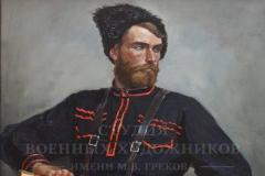 Ананьев Д.А. Казак. 2013 г. Холст, масло. 125х90