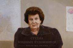 Белюкин Д.А. Бехтерева Наталья Петровна. 2008 г.,  х.м.