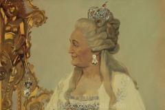 Белюкин Д.А. Екатерина II Великая,  2012 г., х.м