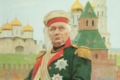 Белюкин Д.А.,  М.И. Кутузов. 2015 г., х.м.