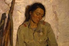 Бут Н.Я. Медсестра Наташа 1970 г.,  х.м.