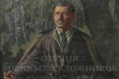 Горелов Р.Г. Портрет М.Б. Грекова 1955 г. х.м. 155х100 см