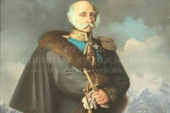 Сытов А.К. Портрет адмирала Ф.П. Литке. 2017г. х.м. 150х120см
