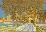 Сибириский А.В. Новый мост. Нило-Столбинский монастырь. 2008 г.