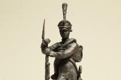 Игнатов А.И. Защитник Отечества в войне 1812 года. 2013 г. Бронза. 38х12х9