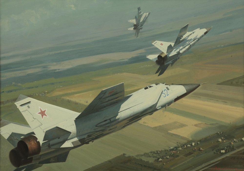 Штрикман Л.Л. Миг-31 Учебные полёты