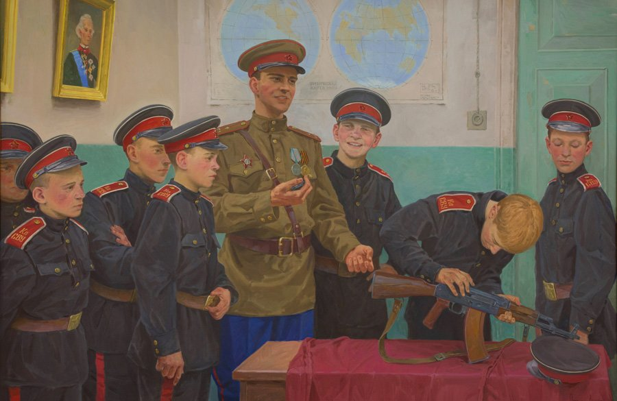 Потогин В.В. Сборка АК-47